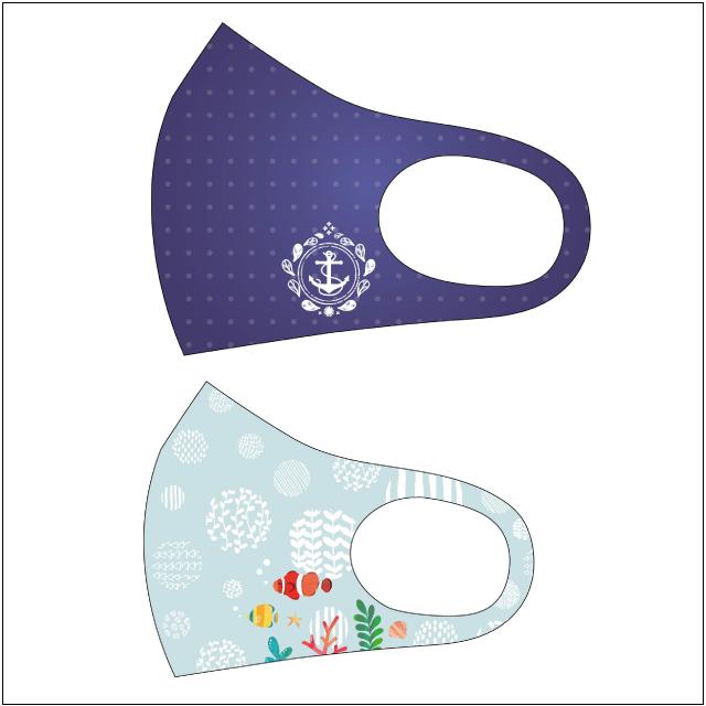 感染予防には必須のマスクをオリジナルデザインで印刷